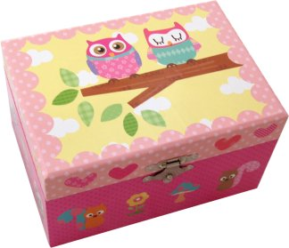 Owls Music Box