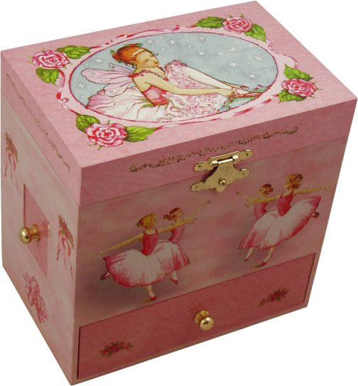 Jessica ballerina musical jewellery box ballerina musical for Girls large jewelry box