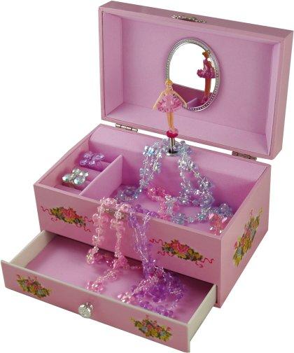 Eloise Ballerina Musical Jewellery Box Classic Ballerina Musical