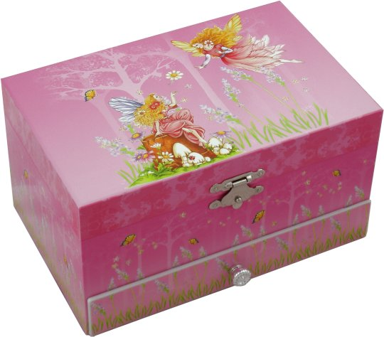 Irish Lullaby Music Boxes Fairy Musical Jewellery Box Girls