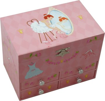 Ballerina Musical Jewellery Boxes