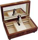 Dancers Musical Jewellery Boxes
