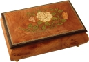 Floral Musical Jewellery Boxes