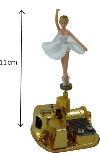 18 Note Ballerina Musical Movements For Music Boxes Spring Wound