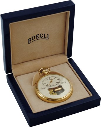 Boegli Manual Wind // Hunter-style Pocket Watch // M61/R ...