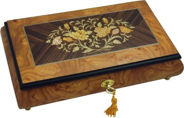 Musical Jewellery Box with Reuge movement