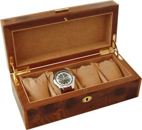 Inlaid Wooden Watch Boxes